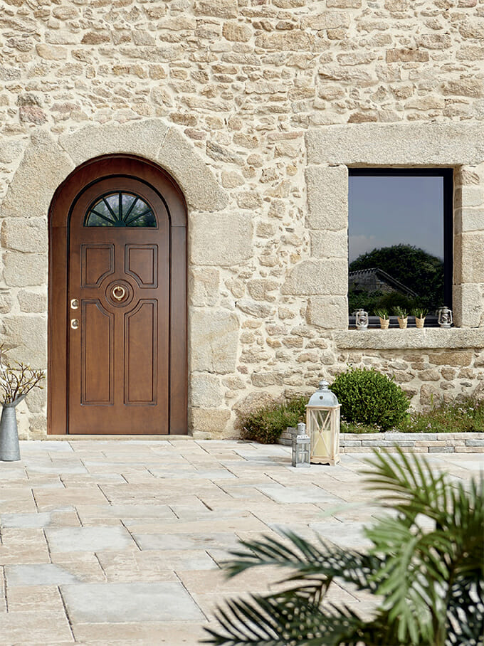 Superior armoured door - Bauxt Spa Made in Italy