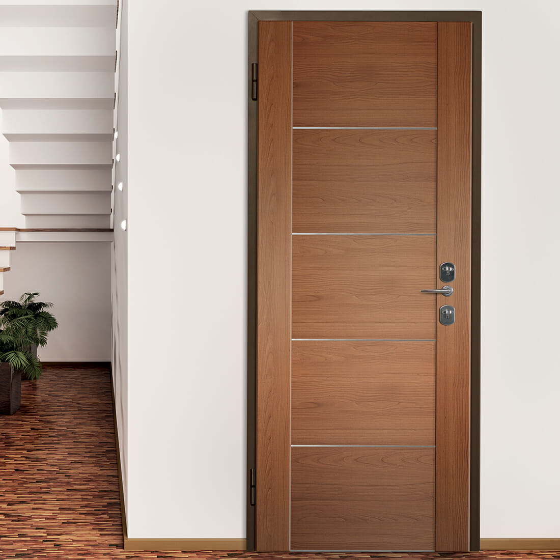Elite & Bauxt armoured doors - design and professional line 100% made in Italy