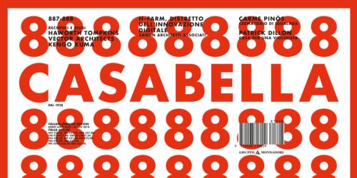 Bauxt su Casabella di luglio 2018